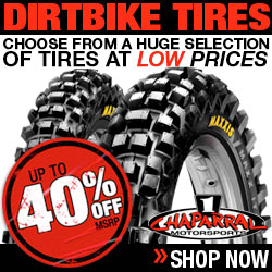 Chapparal Dirt bike Tires